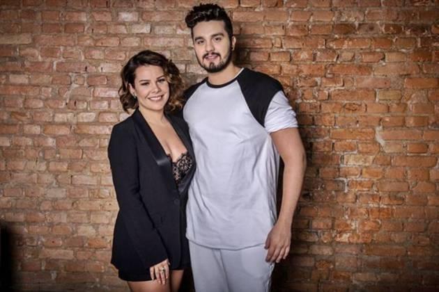 Fernanda Souza e Luan Santana (Globo/Fábio Rocha)