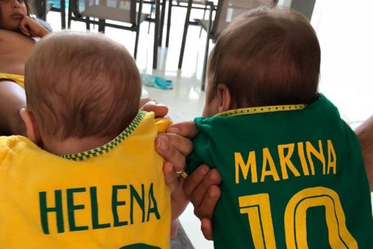 Gêmeas de Ivete Sangalo estão celebrando 1 ano; veja fotos raras das bebês 4