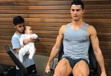 Filho de Cristiano Ronaldo - Reprodução/Instagram