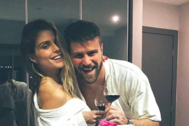 Flávia Viana e Marcelo Ié Ié - Reprodução/Instagram