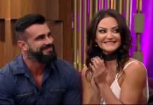 Jorge Sousa e Laura Keller - Reprodução/Record TV