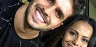 Kainan Ferraz e Viviane Araújo - Reprodução/Instagram
