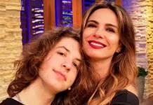 Lucas Jagger e Luciana Gimenez - Divulgação/RedeTV!