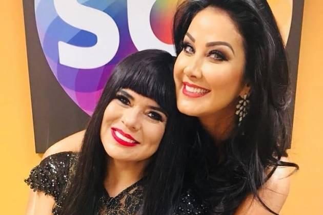 Mara Maravilha e Helen Ganzarolli - Divulgação