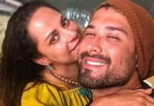Silvia Abravanel e o marido - Reprodução/Instagram