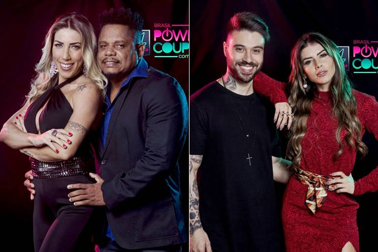 Enquete 'Power Couple Brasil': Tati e Marcelo ou Thaís e Douglas? – Vote!