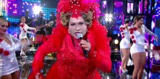 Tiago Abravanel imita Gaby Amarantos - Reprodução/TV Globo