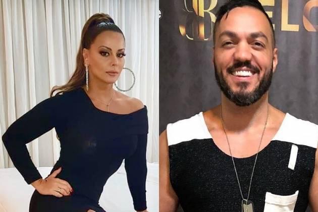 Viviane Araújo e Belo/Instagram