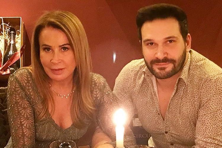Zilu Godoi comemora 5 meses de namoro com Marco Ruggiero