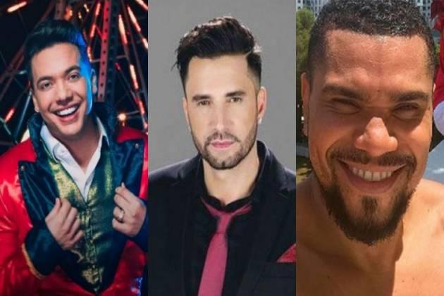 Wesley Safadão, Latino e Naldo Benny - Montagem/Área VIP
