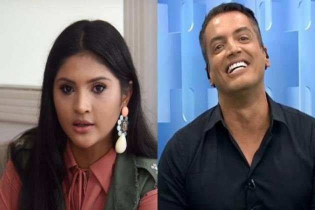 Mileide Mihaile e Leo Dias - Montagem/Área VIP