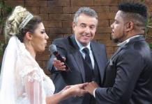Casamento Tati Minerato e Marcelo Galatico - Divulgação/Renato Cipriano