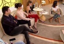 Deborah Secco no celular - Reprodução/TV Globo