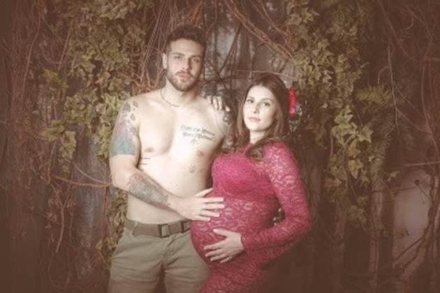 Diego Del Rio e a esposa/Divulgação