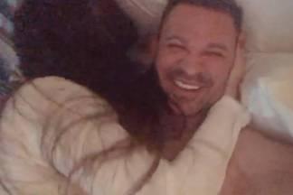 Eduardo Costa com a namorada/Instagram