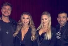 Breno, Paula, Jéssica e Kaysar - Reprodução/Instagram