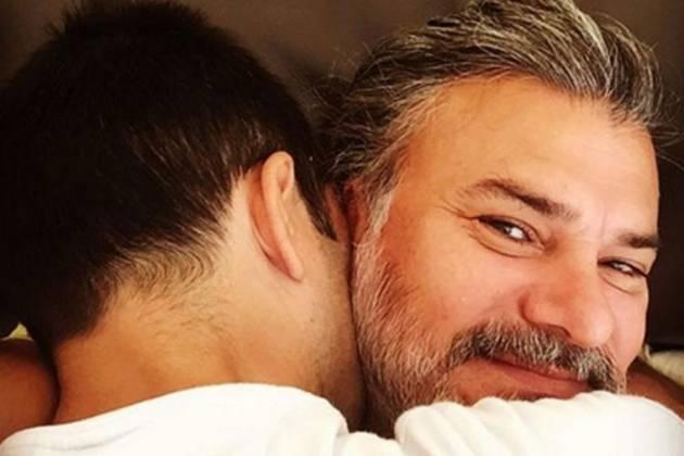 Leonardo Vieira e o marido - Reprodução/Instagram