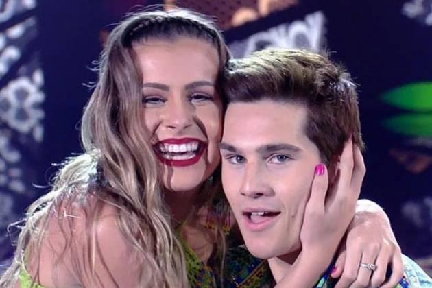 Mayara Araújo e Nicolas Prattes - Reprodução/TV Globo