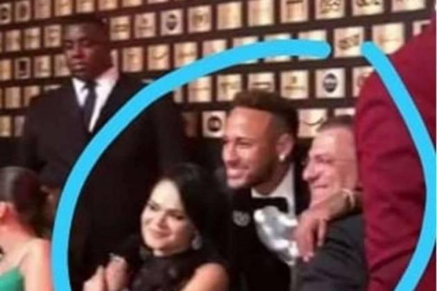 Neymar e os sogros - Reprodução/Internet
