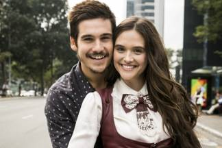 Nicola Prattes e Juliana Paiva - João Miguel Júnior/TV Globo
