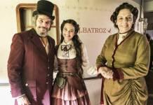 O Tempo não Para - Dom Sabino - Marocas e Agustina (Globo/João Miguel Júnior)