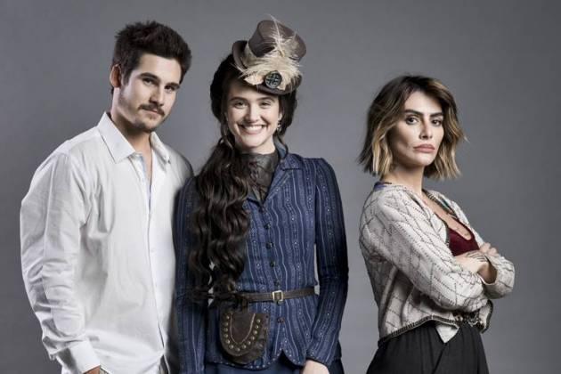 O Tempo não Para - Samuca - Marocas - Betina ( Globo/João Miguel Júnior)