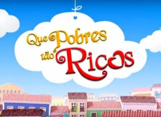 Que Pobres Tão Ricos - Logo (Divulgação SBT/Televisa)