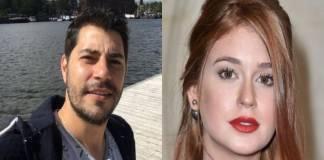 Evaristo Costa e Marina Ruy Barbosa - Montagem/Área VIP