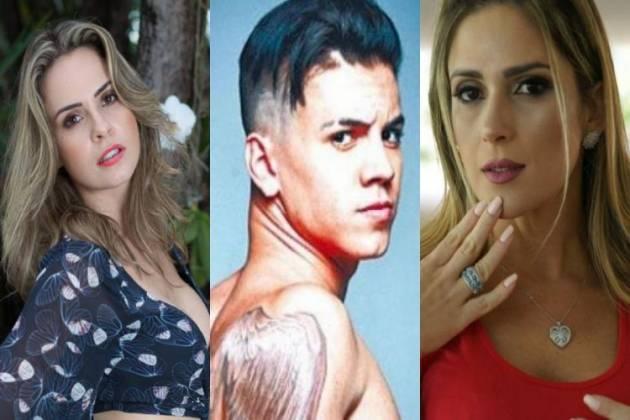 Ana Paula Renault, Biel e Nadja Pessoa - Montagem/Área VIP