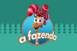 Logo A Fazenda - Reprodução/Record TV