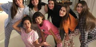 Anitta faz festa do pijama/Instagram