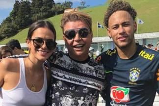 Bruna Marquezine, David Brazil e Neymar - Reprodução/Instagram