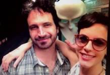 Caco Ciocler e Luísa Micheletti/Instagram