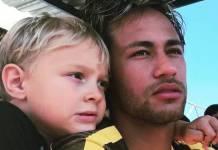 Davi Lucca e Neymar/Instagram