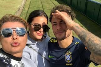 David Brazil, Bruna Marquezine e Neymar - Reprodução/Instagram