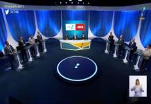 Debate RedeTV!/Reprodução