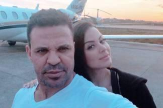 Eduardo Costa com a namorada Victória Villarim/Instagram