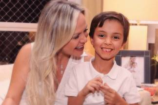 Eliana e Arthur (Instagram/Foto: Manuela Scarpa/Brazil News)