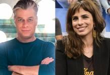 Fabio Assunção e Maria Ribeiro (Paulo Belote/Ramón Vasconcelos/Globo)