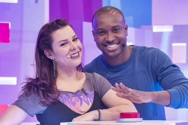 Fernanda Souza e Thiaguinho( Globo/Victor Pollak)