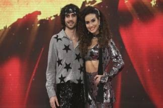 Fiuk e Erika Rodrigues (Reprodução: TV Globo)