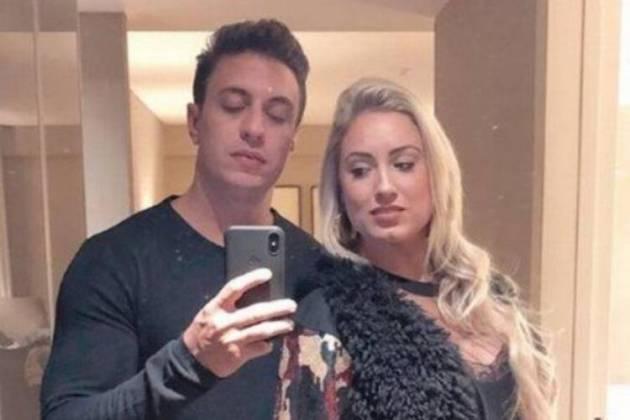 Flávio Ribeiro e Jéssica Mueller - Reprodução/Instagram