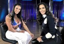 Gracyanne Barbosa e Dani Albuquerque (Divulgação/RedeTV!)