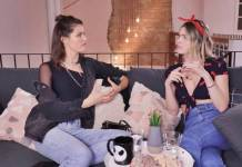 Isabeli Fontana e Julia Faria/Youtube