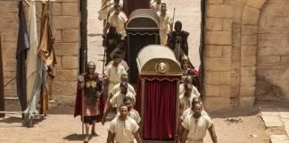 Jesus - Pôncio Pilatos e sua comitiva chegam em Jerusalém (Edu Moraes/ Record TV)