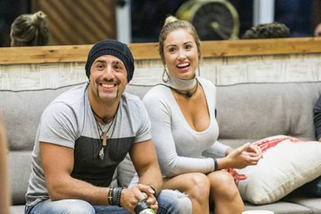 Kaysar e Jéssica (Globo/Paulo Belote)
