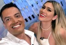 Leo Dias e Lívia Andrade - Reprodução/Twitter