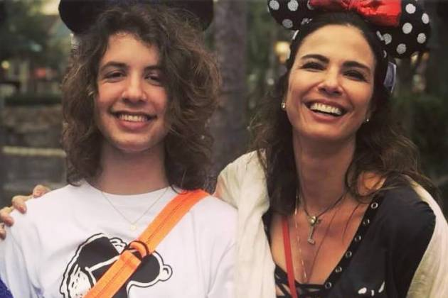 Lucas Jagger e Luciana Gimenez/Instagram