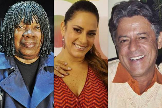 Milton Nascimento - Silvia Abravanel - Marcos Paulo (TV Globo/Estevam Avellar/Instagram)