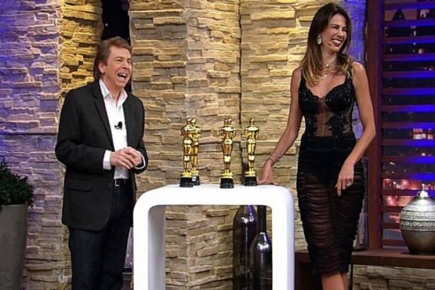 Nelson Rubens e Luciana Gimenez /Divulgação: RedeTV!
